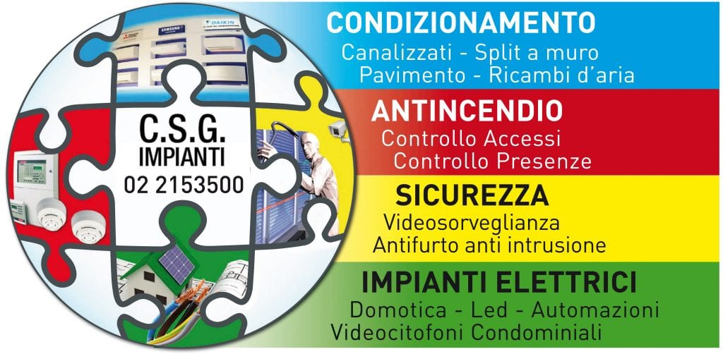 Csg Impianti Via del gesu Milano